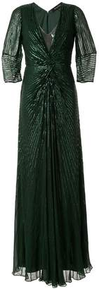 Jenny Packham embellished maxi dress