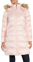 Kate Spade Faux Fur-Trimmed Down Puffer Coat