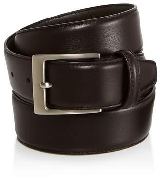 Canali Men's Basic Smooth Leather Belt