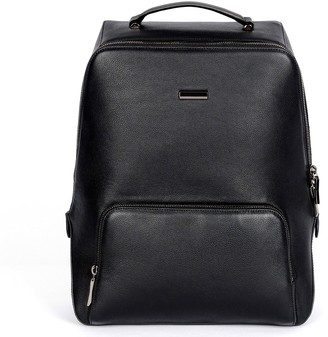HR NY Cushioned Strap Leather Backpack - Hexy