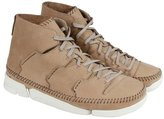 Clarks Trigenic Flow Mens Tan Nubuck Casual Dress Lace Up Chukkas Shoes 10.5
