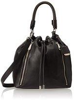Kenneth Cole New York No Slouch Drawstring Shoulder Bag