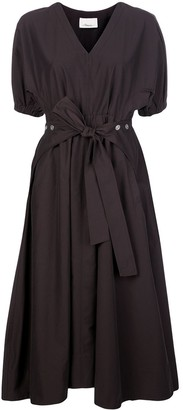 3.1 Phillip Lim Utility belted midi dress