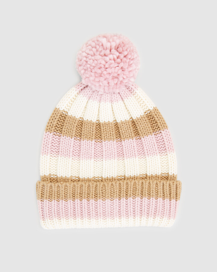 Thumbnail for your product : French Connection Women's Headwear - Pom Beanie - Size One Size, 00 at The Iconic