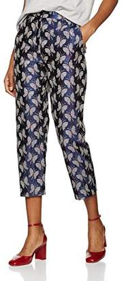 Paul & Joe Sister Women's 5BUTTERFLY Trousers - Blue