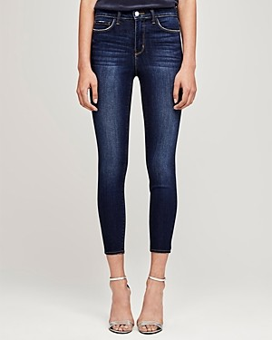 L'Agence Margot High-Rise Skinny Jeans in Baltic