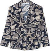 Raphaëlla Riboud George printed silk-satin pajama shirt