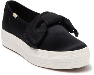 Keds x kate spade new york triple decker bow satin sneaker
