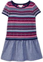 Design History Intarsia Dress (Toddler & Little Girls)