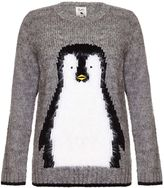 Yumi Knitted Penguin Jumper