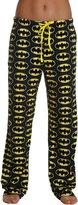 Underboss Production LLC Womens Batman Glow in the Dark Logo Lounge Pants