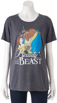 Disney Disney's Beauty and the Beast Juniors' Classic Graphic Tee