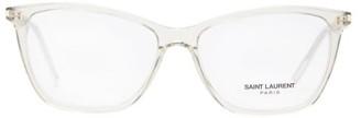 Saint Laurent Square Acetate Glasses - Clear