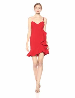 LIKELY Women's Laverna Ruffle Trim Mini Cocktail Dress