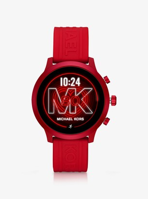Michael Kors MKGO Red-Tone and Silicone Smartwatch