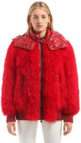 Moncler Puymorens Fur Down Jacket