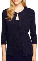 Alex Evenings Two-Piece Jacket and Tank Set