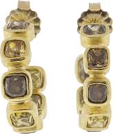 Todd Reed Diamond Hoop Earrings