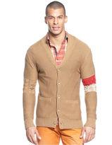 Sean John Sweater, Varsity Cardigan Sweater