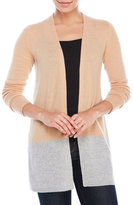 Magaschoni Cashmere Color Blocked Cardigan