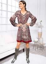 Linea Tesini Heine Print Dress
