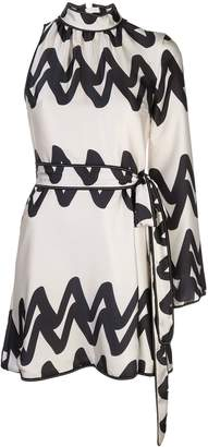 Alexis Elina one sleeve mini dress