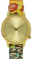 Komono KOM-W2851 Women's Estelle Vlisco Stainless Steel Case Multi Leather Watch