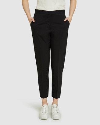 Oxford Charla Blk Wool Stretch Suit Pants