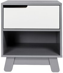 Babyletto Hudson 1 Drawer Nightstand Color: Gray