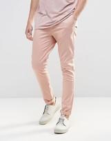 Asos Super Skinny Chinos In Pink