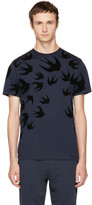 McQ Navy Swallows T-shirt