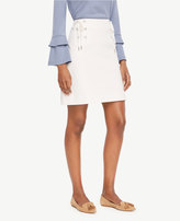 Ann Taylor Lace Up Skirt