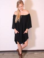 Tysa Senorita Mini Dress In Black