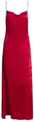 Kirin Typo Logo Fluid Slip Dress