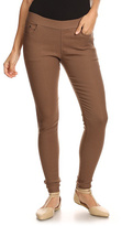 Dark Khaki Mid-Rise Jeggings