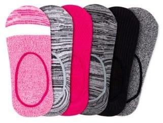 Time and Tru Women's Super Soft Liner Socks, 6-Pack