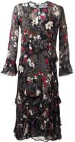 Dondup flower print longsleeved dress - women - Viscose - 40