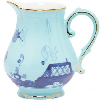 Richard Ginori Oriente Italiano Porcelain Milk Jug - Blue Multi