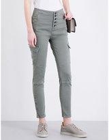 J Brand Bridgette Utility Cargo high-rise skinny jeans