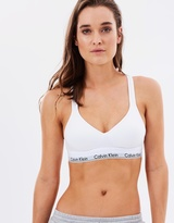 Calvin Klein Modern Cotton Bralette Lightly Lined
