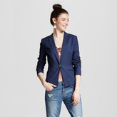 XOXO Women's Single Button Pocket Blazer Juniors')