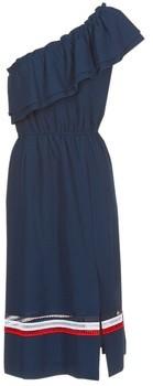 Tommy Hilfiger OC JOIE DRESS women's Long Dress in Blue