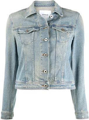 Dondup Denim Button-Up Jacket