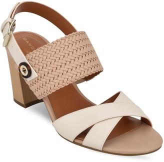 Bandolino Wooden Block Heel City Sandals - Dante