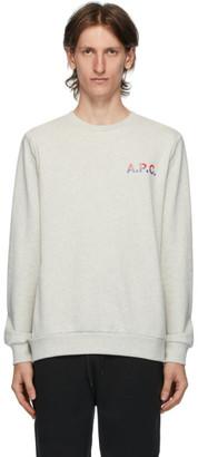 A.P.C. Grey Michel Sweatshirt
