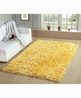 """Thumbnail for your product : Home Weavers Bella Premium Jersey Shaggy Accent 42"""" x 66"""" Rug Bedding"""