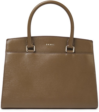 DKNY Sutton Textured-leather Tote