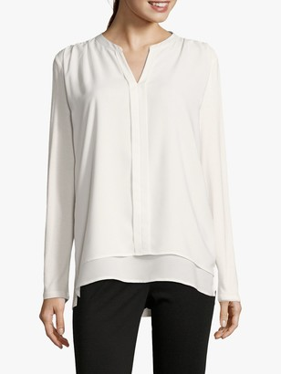 Betty Barclay Layered Blouse, Offwhite