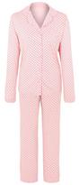 George Tickled Pink Heart Print Pyjama Set