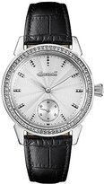 Ingersoll Women's Automatic Stainless Steel and Leather Casual Watch, Color:Black (Model: I03701)